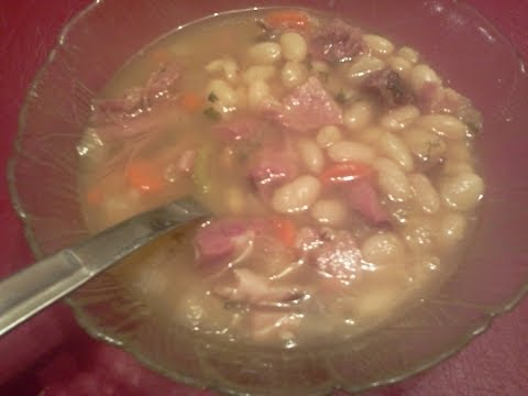 Worlds Best  Ham And Bean Soup? Well If It Isn't It Should Be! Killer Good! Enjoy!