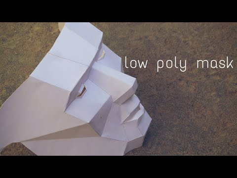 How to build a low poly mask