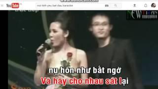 Cơn Mưa Tình Yêu karaoke _ Ngọc ÁNh ( thiếu giọng nam )