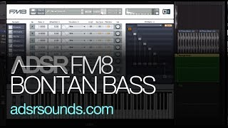 NI FM8 - Bontan Move On Out Bass - How To Tutorial