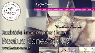 Rozbiórki kosmetyków i karm Beatus Canes Sklep