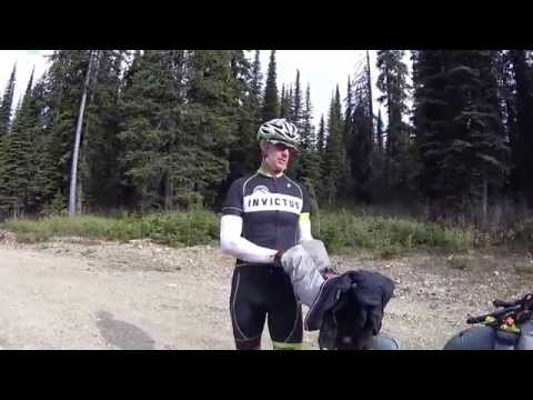 Brian Steele on Galton Pass  Tour Divide '15!