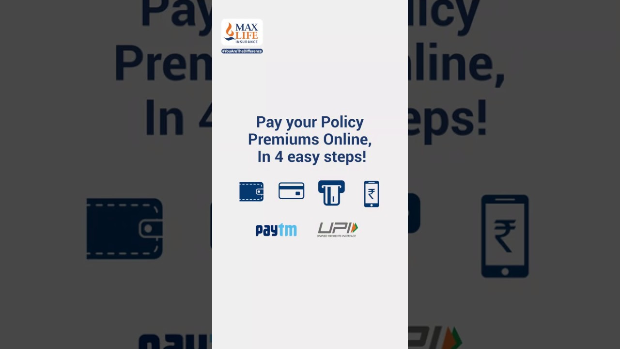 How to Pay Policy Premium Online   Max Life Insurance ...