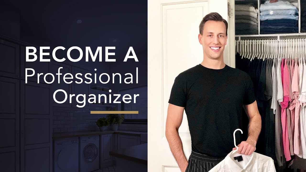 How to become a Professional Organizer in 4 Easy Steps!