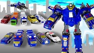 Трансформеры машинки и Voov-G робот-защитник. Распаковка.