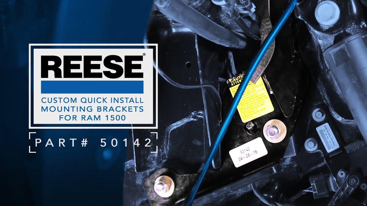 reese hitch 18k fifth wheel elite series under bed rail design hitch warehouse [ 1280 x 720 Pixel ]