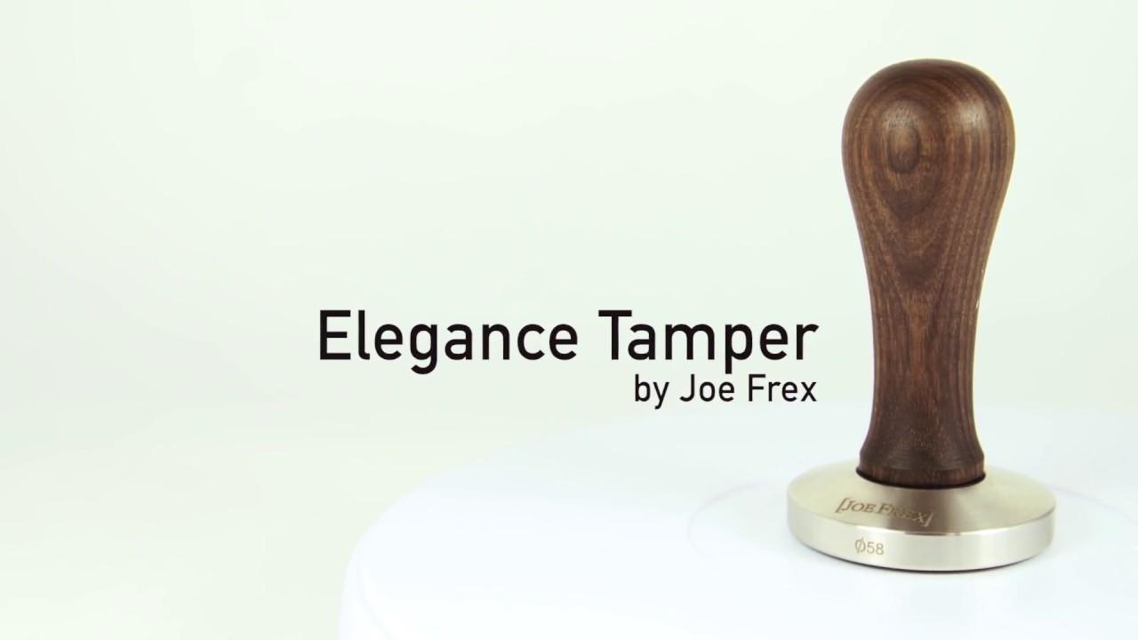 Tamper Handle Elegance Beech Black Without Base