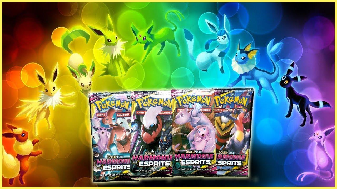 Booster Pokemon - Harmonie des Esprits - De la chance et des têtes étranges  xD