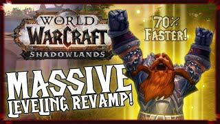 Massive Leveling Revamp! - World of Warcraft: Shadowlands   𝔒𝔡𝔡ℭ𝔯𝔞𝔣𝔱