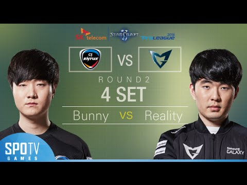 [SPL2016] Bunny(CJ) vs Reality(Samsung) Set4 Dusk Towers -EsportsTV, Starcraft 2