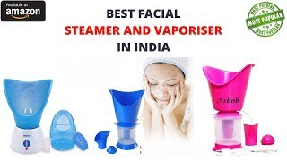 7 Best Facial Steamer and Vaporiser in India with Price 2019 I Steamer For Cold and Cough on amazon