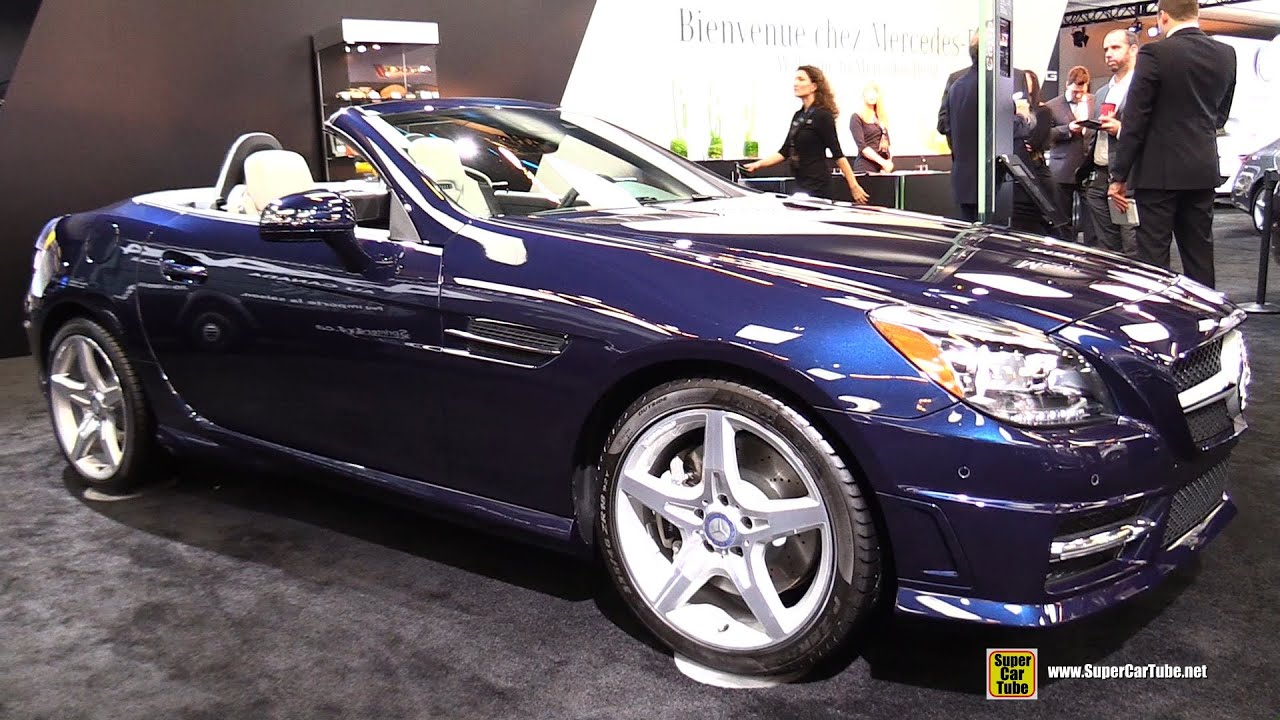2015 mercedes benz slk class slk 350 exterior and interior walkaround 2015 montreal auto show