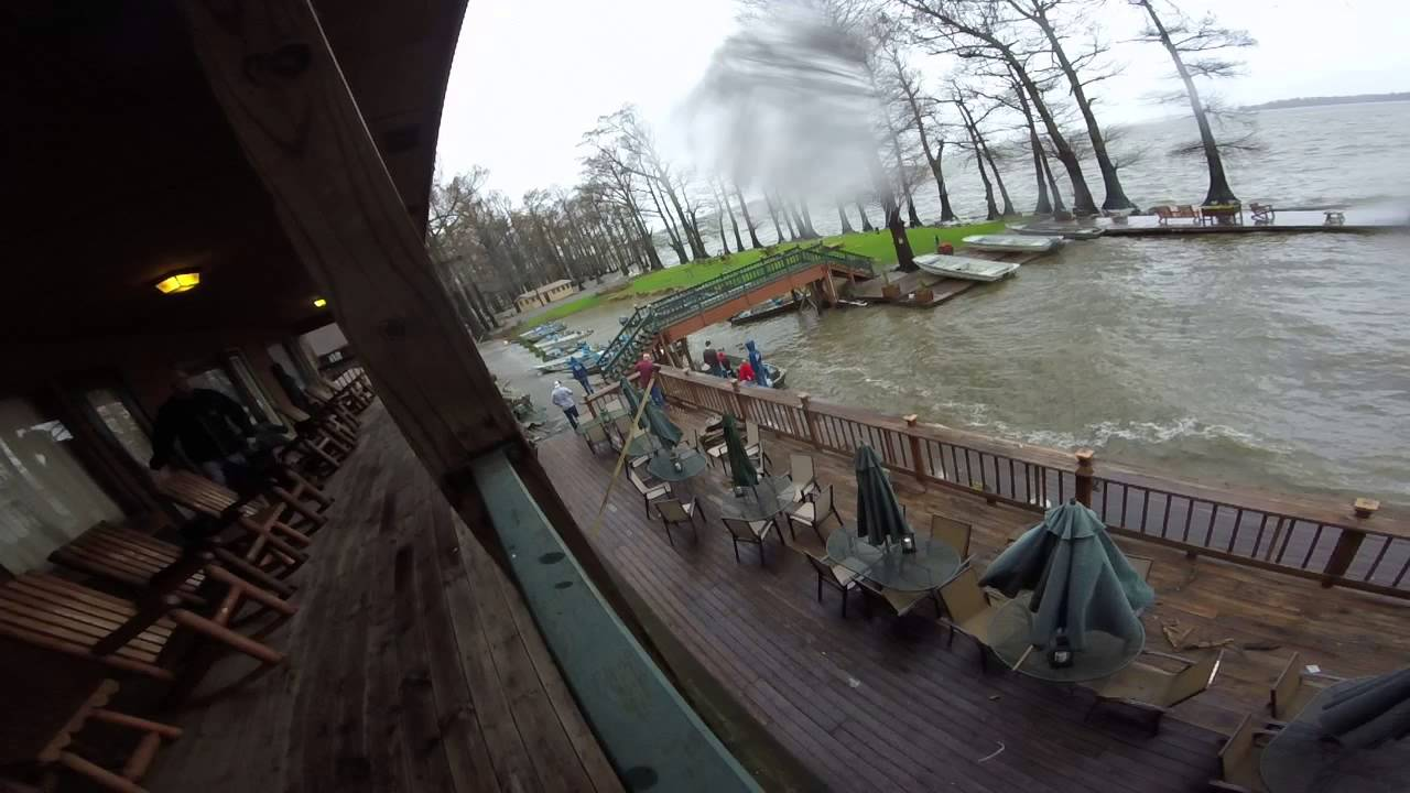 Reelfoot Lake fishing storm