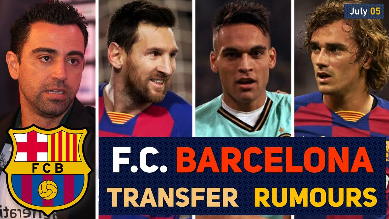 TRANSFER NEWS: F.C. BARCELONA TRANSFER NEWS AND RUMOURS UPDATES