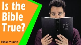 Is the Bible True?  |  Evidence for the Bible | 1 Reason Why I Trust the Bible