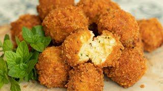 Tirokroketes: Greek Fried Cheese Balls