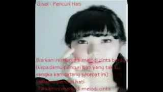 GISELLE PENCURI HATI WITH LIRIK  VIDEO YOUTUBE MP3 DOWNLOAD CHORD