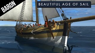 Naval Action Gameplay - NEW Ship, the Cutter!  Naval Action Age of Sail!