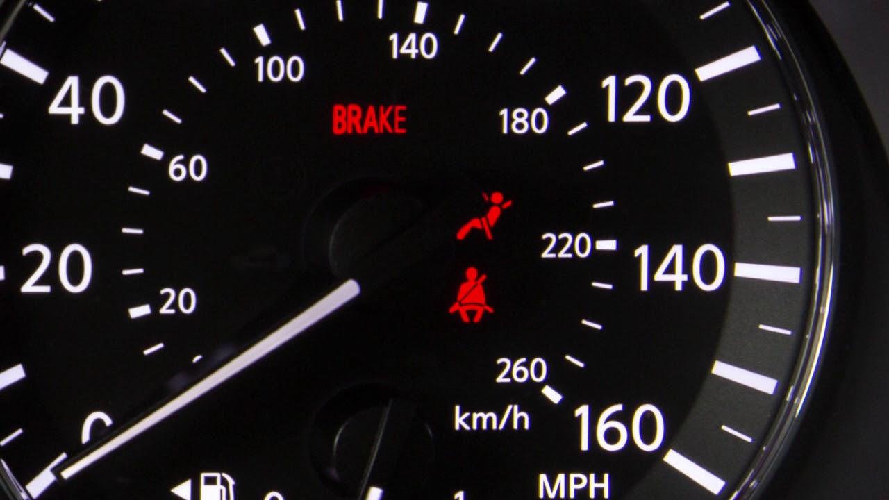 2018 Nissan Altima   Warning And Indicator Lights