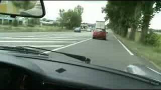 Je râle au volant de ma Porsche
