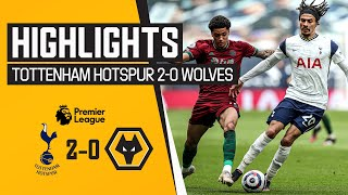 Defeat in the capital | Tottenham Hotspur 2-0 Wolves | Highlights