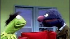 Sesamstrasse - Kermit der Frosch bekommt von Grobi eine neue Frisur