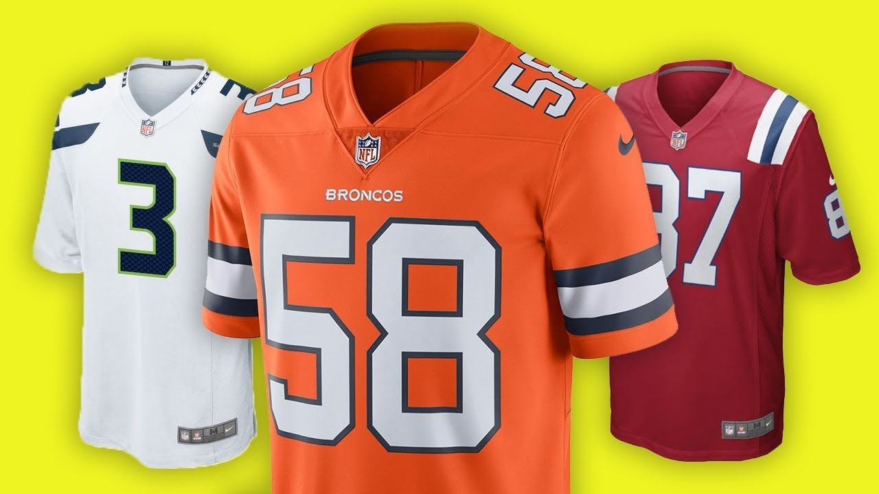 color rush jersey broncos