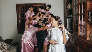 Brazilian Bride's BRO BRIDESMAIDS! | What's Trending Now!