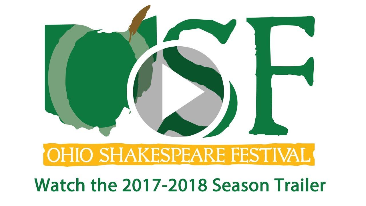 Ohio Shakespeare Festival 2017-2018 Season
