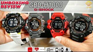GBD-H1000 (Gshock G-Squat) จีช็อกสายฟิต!วัดอัตราการเต้นหัวใจได้ พร้อม GPS ในตัวและฟังชั่นแบบจัดเต็ม!