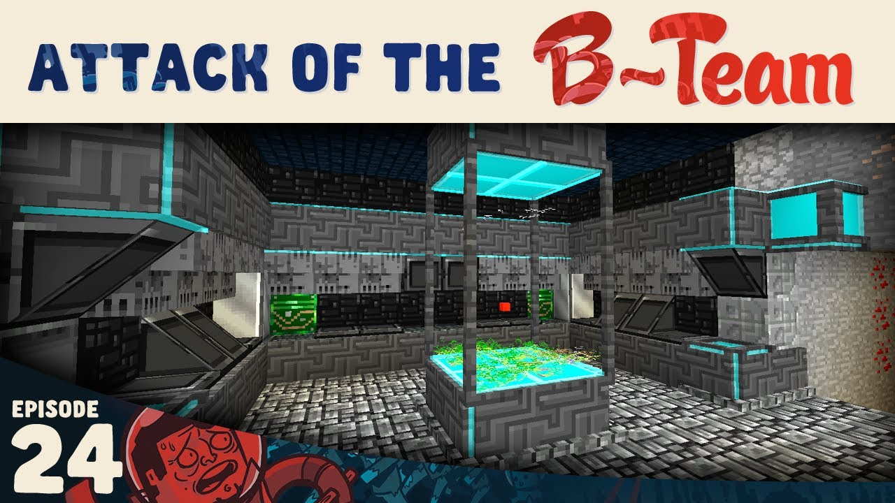Minecraft War Room Attack Of The B Team E24 Youtube