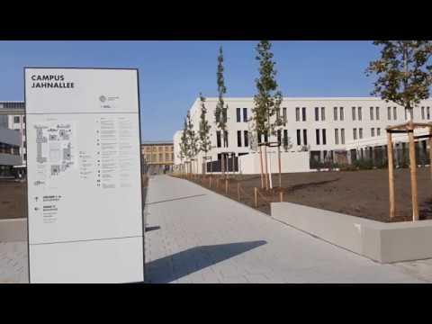 Durchs BWZ in eineinhalb Minuten: Das neue Bildungswissenschaftliche Zentrum der Uni Leipzig