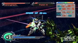 Dynasty Warriors Gundam 2 1080p running on PCSX2 0.9.9 SVN - wide screen patched