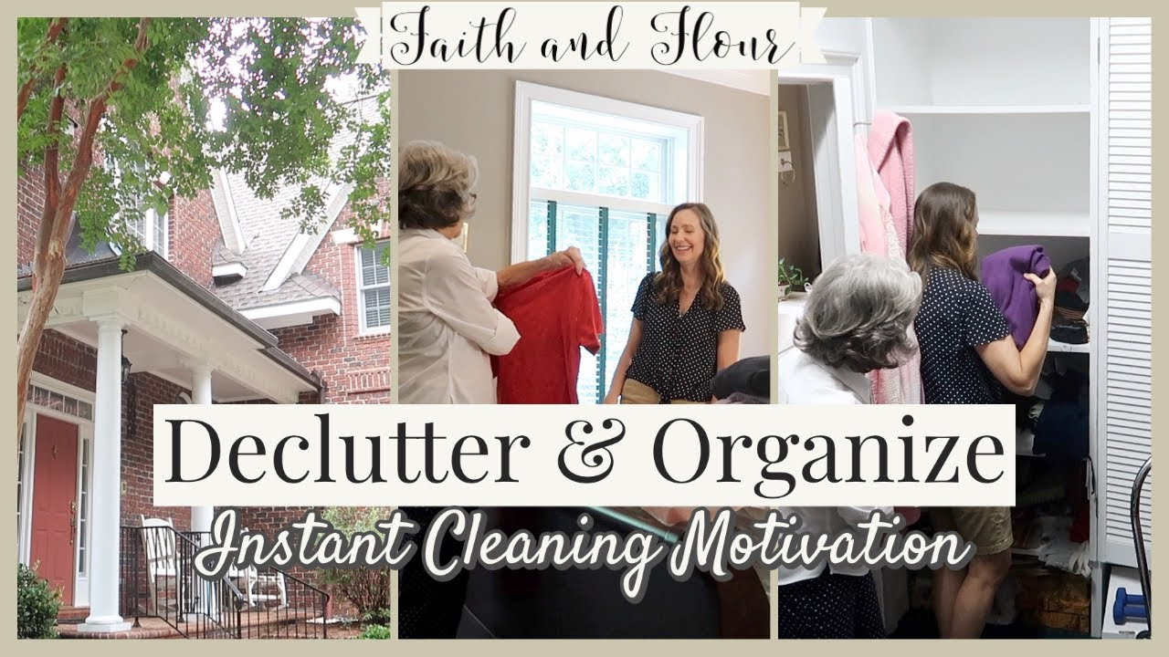 Declutter & Organize with Me | Konmari Declutter | Speed Cleaning Motivation 2020
