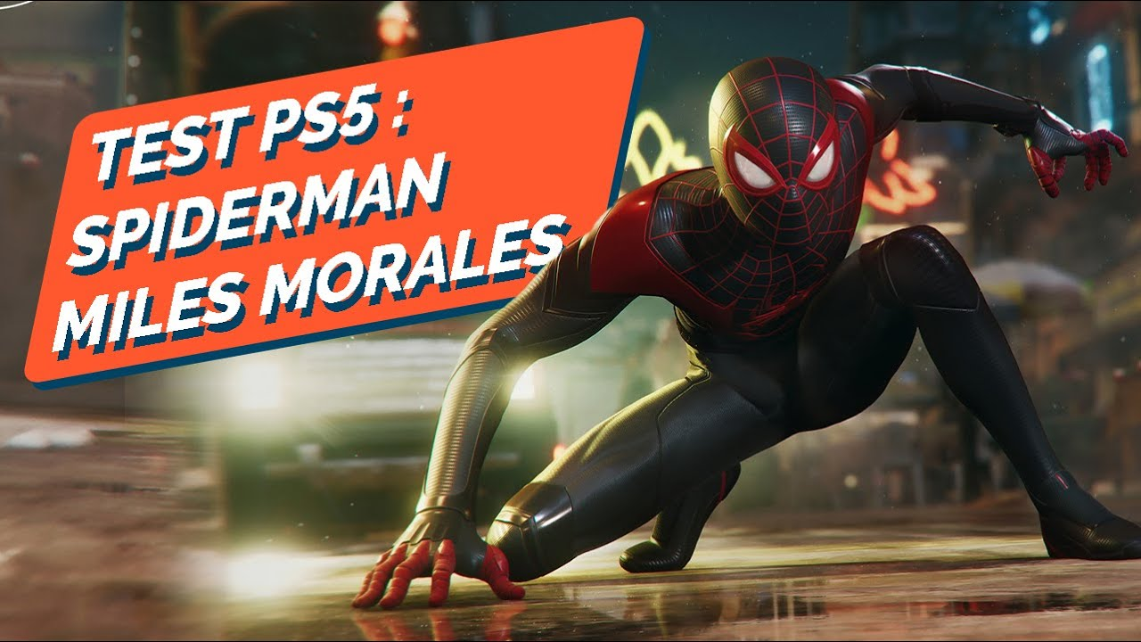 TEST - MARVEL'S SPIDER-MAN : MILES MORALES – La relève est-elle assurée sur PS5 ?