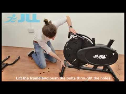 JLL® CT100 Cross Trainer - Unboxing & Assembly (9Mins)