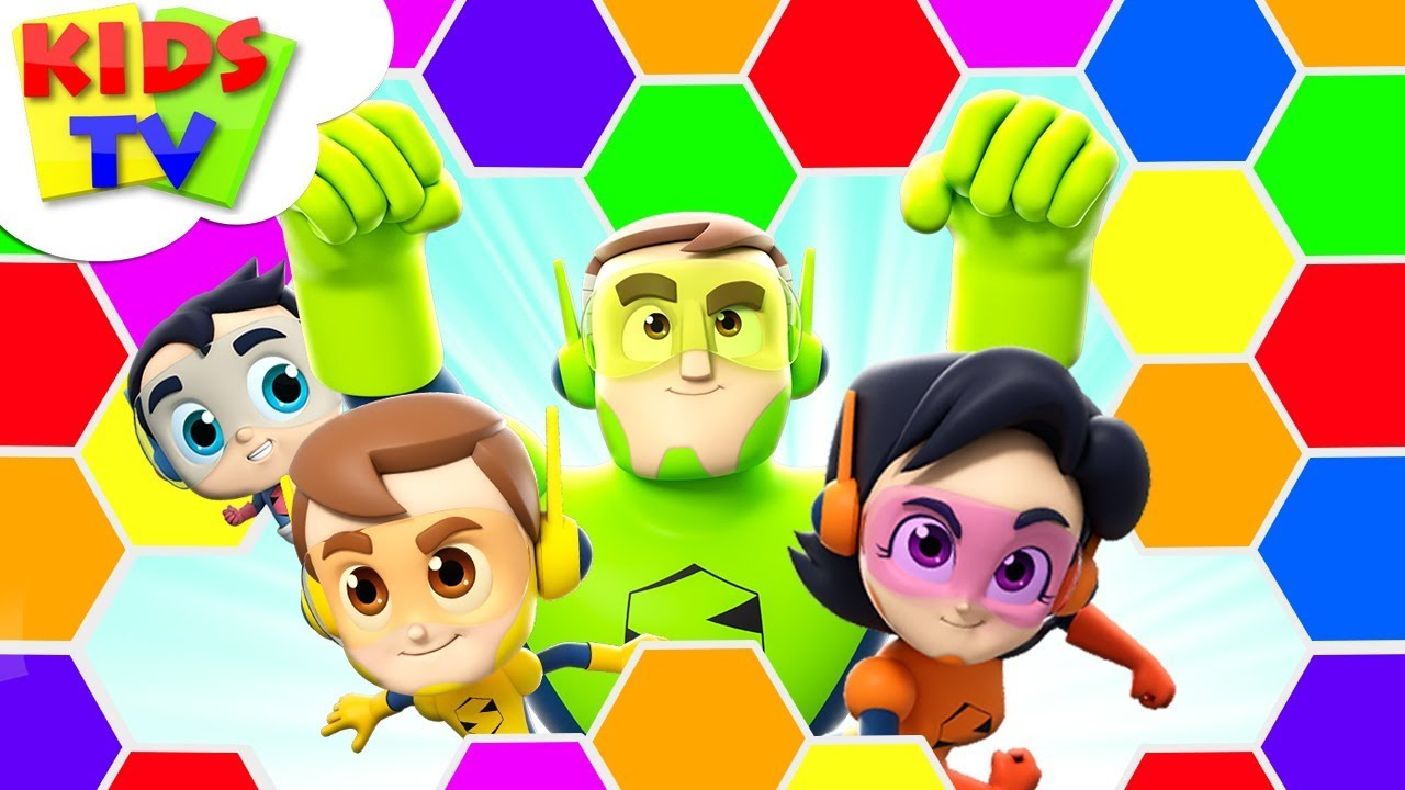 Colors Of The Rainbow | Color Song | The Supremes | Children Songs & Rhymes - Kids TV