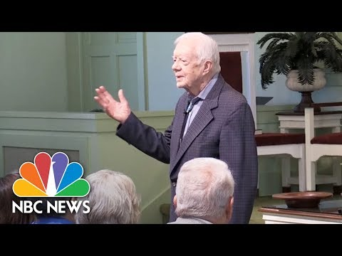 Jimmy Carter Warns Against Provoking North Korea   NBC News