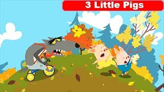 The Adventures of the Three Little Pigs - Audio Read Aloud Storybook for Kids