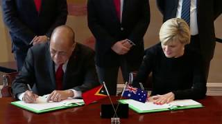 Signing Ceremony for the Maritime Boundary Treaty between Australia and Timor-Leste thumbnail
