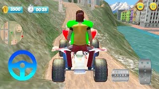 ATV Mountain Bike Taxi Racing Game   Atv Bike Games   Bike 3D Games   Games for Kids