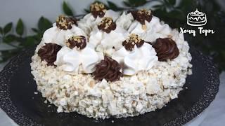 классический торт ПОЛЁТ  Торт-безе с орехами и масляным кремом Шарлотт. Рецепт торта по ГОСТу СССР