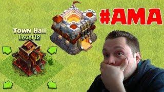 Rathaus 12, Updates & mehr ☆ #AMA ☆ Clash of Clans ☆ CoC