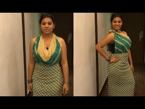 Drape a saree as a DRESS, in 3 savvy ways