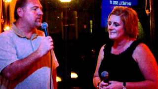 Dan & Teri singing Everything by Michael Buble