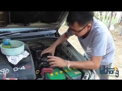 วิธีการเปลี่ยนไส้กรองน้ำมันดีเซล(โซล่า) รถโตโยต้า วีโก้ ด้วยตัวเอง by LaiThang (ลายแทง)