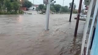 Video: Así están los barrios de la zona norte por las lluvias