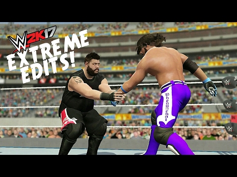 WWE 2K17 EXTREME EDITS | Extreme Moves/Reversals!