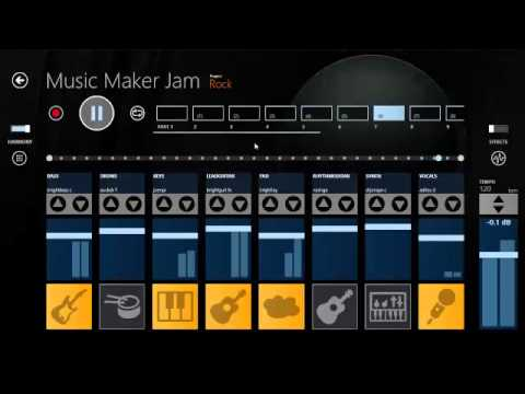 music maker jam testing to create my own music genre rock youtube. Black Bedroom Furniture Sets. Home Design Ideas