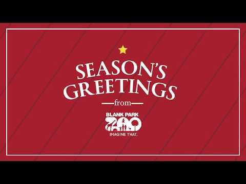 Season's Greetings from Blank Park Zoo